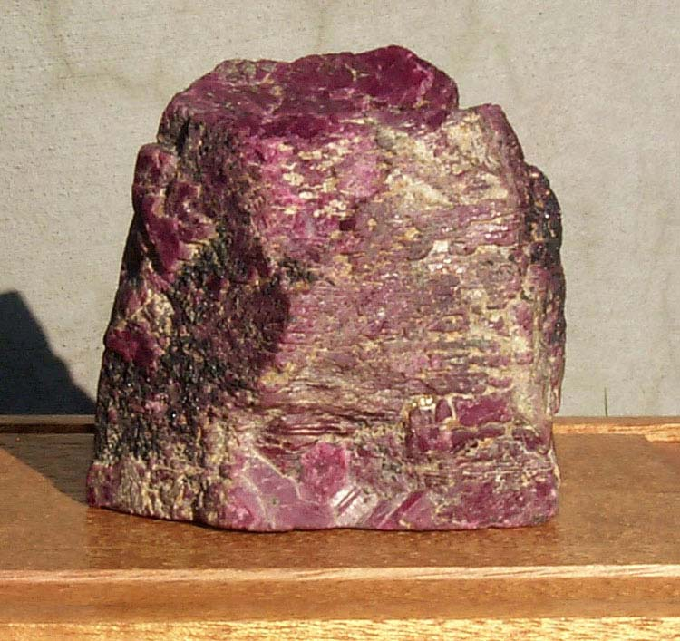 largest uncut ruby 125 west