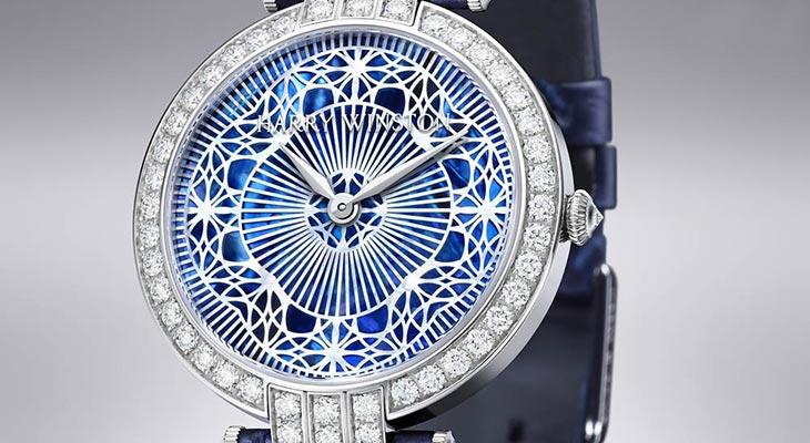Harry Winston lace diamond watch