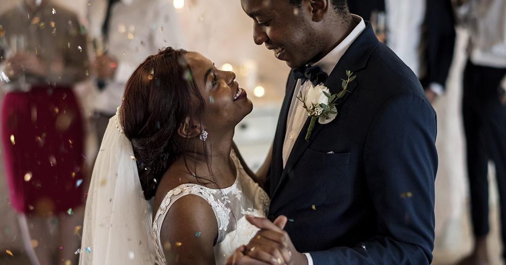 South African wedding couple costs