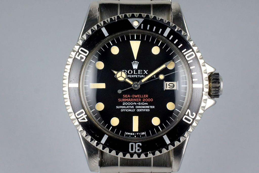 seadweller watch