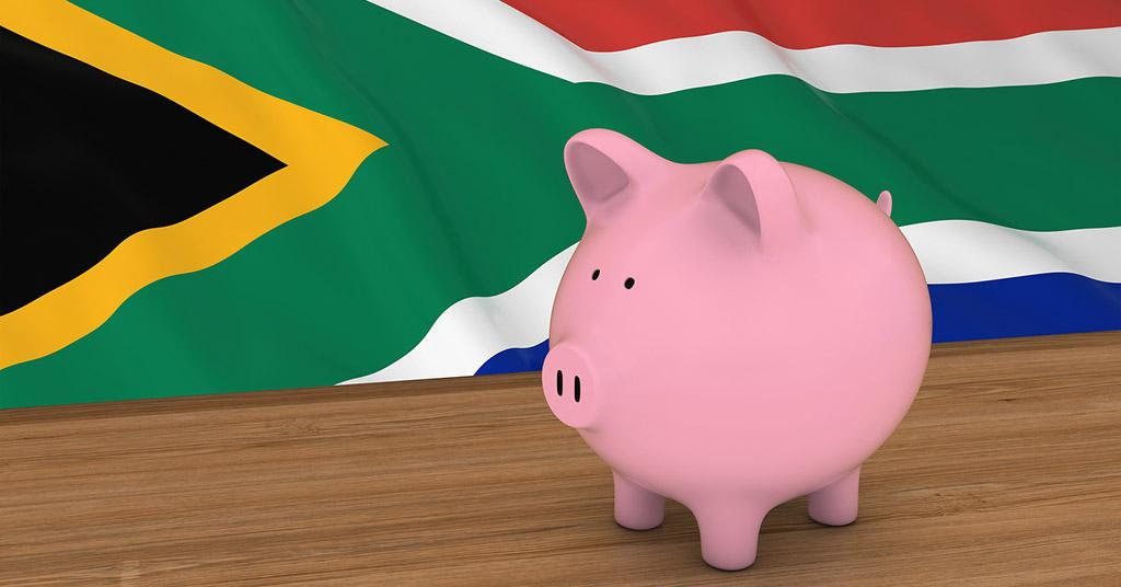 Saving money in South Africa
