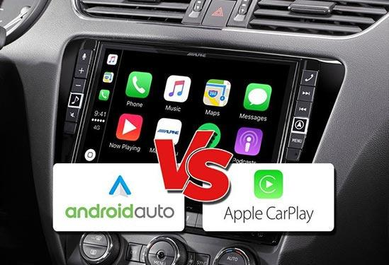android auto vs apple carplay
