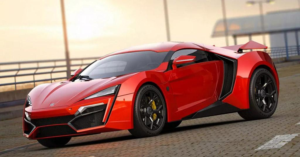 10 of The World's Most Expensive Cars in 2019