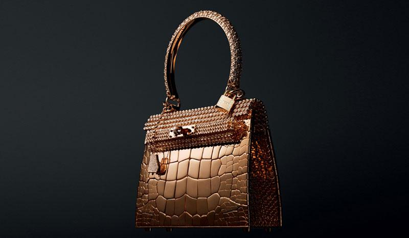 hermes rose gold kelly bag