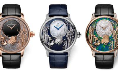 Awe-Inspiring: Jaquet Droz's Automata Watches with 3-D Animations