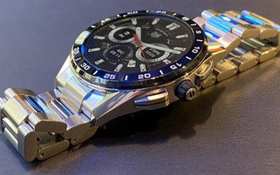 The Ultimate Luxury Smartwatch? The Tag Heuer Connected 2020